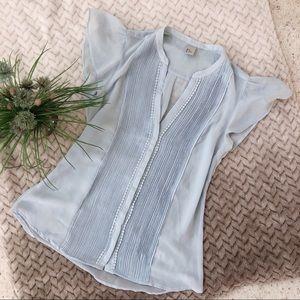 🌸3/20 Zara short sleeve blouse